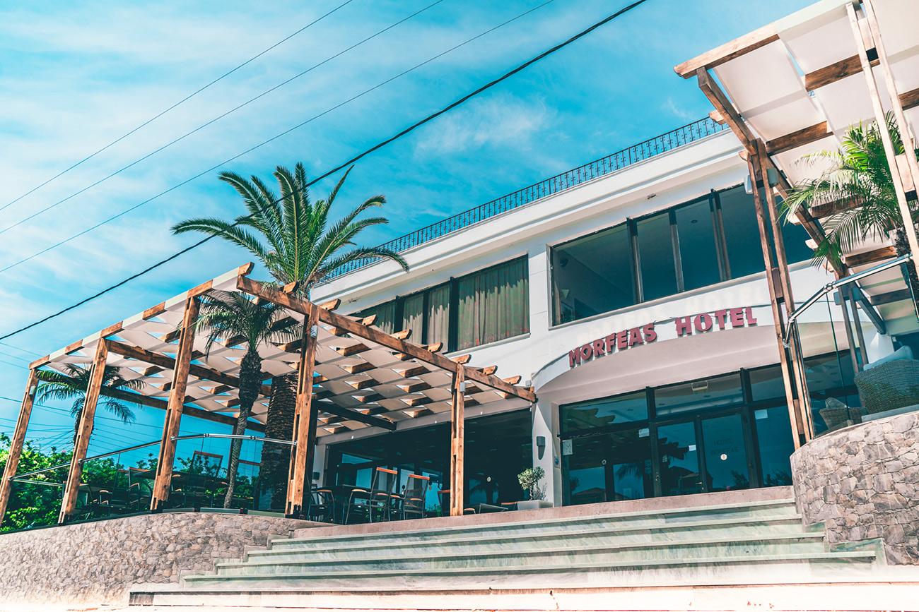 Morfeas Hotel Corfu Greece